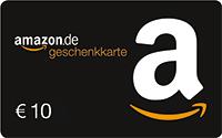 10€ Amazon-Gutschein