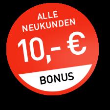 10 € Neukunden Bonus